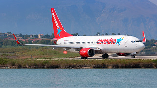 Corendon Dutch Airlines Boeing B737-8 PH-CDE