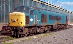 45133 MARCH (Andy Wills.) Tags: 45133 march depot tmd preserved peak br blue livery
