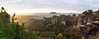 left or right? (www.powerofadventure.de) Tags: sächsische schweiz wehlnadel cloudsstormssunsetssunrises sunrise sun trees rocks mountains bastei rathen felsenbühne sonnenaufgang elbe lilienstein