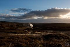 Black 5 No. 44806 - Fen Bog (Jonathon Gourlay) Tags: steam train north yorkshire moors railway black5 five sunset glint
