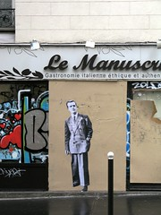 rue de Montreuil (Leo & Pipo) Tags: leopipo leoetpipo paris streetart street art artwork collage urbain urban poster affiche paste pasteup wheatpaste city ville rue mur wall sticker stencil tag graffiti france retro vintage handmade analog cut paper