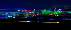 On the Move (petejam70) Tags: cityscape urban longexposure vancouvercanada color community night mysterious darkness