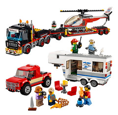 My Faves from the NEW 2018 LEGO City line-up (KEEP_ON_BRICKING) Tags: lego city 2018 set sets image images heavy cargo transporter pickup caravan new favourite pick