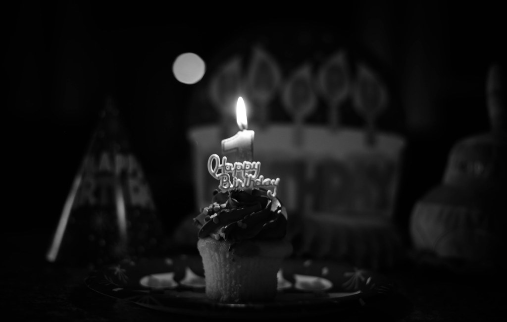 Image result for birthday candle bw photography