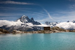 Lac Blanc (aivar.mikko) Tags: lacblanc lake flegere lac blanc trek france alps trekking hiking clouds rhonealpes alpes mont massif chamonix mountains walking frenchlandscapes turquoise emerald scenery scenicview scnic french