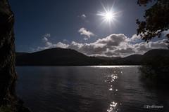 Crummock Water (Peeblespair) Tags: england lakedistrict peeblespairphotography travel withandy britain crummockwater lake sunburst sparkle mountains blue