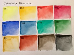 (greendot) Tags: schmincke akademie schminckeakademie watercolor watercolorbox watercolors aquarelle akvarell aquarell art paintbox watercolour watercolours paint schminckewatercolor