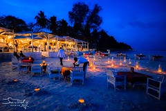 Full Moon dinner on the beach