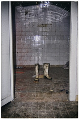 (philippe baumgart) Tags: altenberg alsace schlucht valléedemunster urbex creepy disturbing blood butcher boots