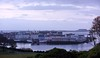 STORNAWAY BLUE  ( Explore ) By Angela Wilson (angelawilson2222) Tags: stornaway lewis scotland evening blue light town harbour boats houses dwellings nikon angela wilson seascape landscape uban hebrides