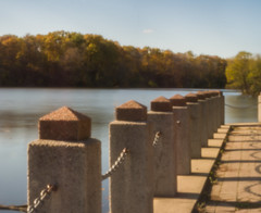 Barricade (Greg Jarman) Tags: nikon d7100 pinhole pro thingyfy autumn fall michigan heins drive scenic panorama
