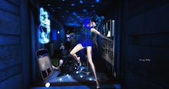 """""""How do you know, when you think blue — when you say blue — that you are talking about the same blue as anyone else? You cannot get a grip on blue."""" - C. Moore (kimmyridley) Tags: zibska trunkshow catwalk pocketgacha maitreya lelutka blue nonperishable exhibition berg nordanart secondlife sexygirl sensual secondlifeblog secondlifebloggers bloggage sexylegs solitude secondlifeevents delmay bento"""