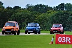 Just like buses (Fuffle & Snap) Tags: fiat 126 drag racing sywel aerodrome classic cars taz