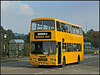 Pixie Tricks! (Jason 87030) Tags: pxi1319 pixie hunters bus yellow royaloakway school service northants northamptonshire leyland olympian alexander doubledecker shoolbus