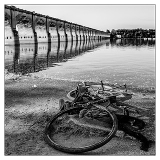 River Bike by the Susquehanna River