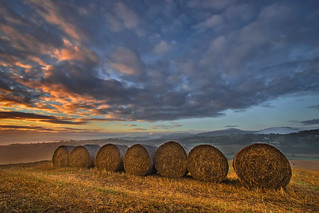Bales on the Hill (explored)