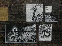"Wabash Arts Corridor - ""Peacock"" (2016) by Andrea Dunn (Stuart Fujiyama) Tags: illinois chicago south loop wabash arts corridor east balbo andrea dunn mural"