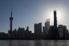 Pudong silhouette (Mikey Down Under) Tags: china prc swfc shanghai financialcentre hunagpu morning pearltower pudong river silhouette skyline thebund tower