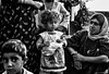 Family in Kurdistan (rvjak) Tags: irak kurdistan iraq family famille enfant child girl fille noir blanc black white bw argentique film pellicule f3 nikon