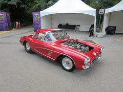 IMG_3561 Injected early Corvette drag car (vancouverbyte) Tags: vancouver vancouverbc vancouvercity corvette corvettedragracer