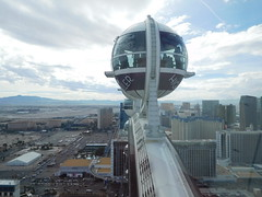 The High Roller (kenjet) Tags: high roller highroller thehighroller lv vegas lasvegas thelasvegasstrip pod atop top ride wheel ferris ferriswheel