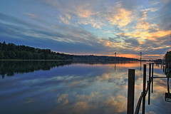 Sunset (Eric_Z) Tags: sunset pittriver portcoquitlam britishcolumbia canada canoneos7dmkii tamron1750mmf28 landscape portmannbridge