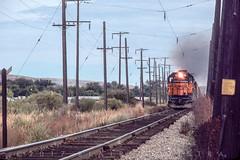 Hot Rail at West Kitty (blair.kooistra) Tags: milwaukeeroad railroadelectrification washington railroads sd402