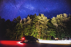 Adventures 2017 (C. Campbell) Tags: ep3 honda civic jdm stance stars milyway themilkyway galaxy oregon oregonexplored eugeneoregon