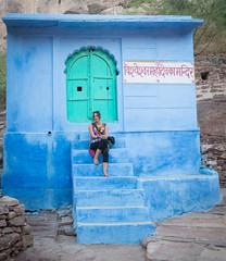 Rajasthan - Jodhpur - blue city-5