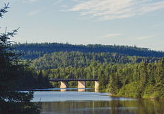 Pigeon River Border Crossing Bridge - Minnesota/Ontario (Tony Webster) Tags: canada highway61 minnesota pigeonriver unitedstates border bordercrossing bridge internationalborder grandportage us