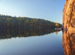 Reflection (KariFinland) Tags: 5dmk2 2470mm landscape reflection olhavanvuori repovesi finland
