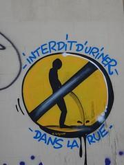 Colors of Marseille (brigraff) Tags: marseille interdiction rue uriner brigraff