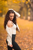 Afterwork Shooting with Nadine (oliver.nispel) Tags: 069 frankfurtammain outdoor ffm frankfurt germany hesse mainhattan people person place portrait girl female fitgirl hessen de body hair pretty beautiful beautyinnature fall autumn beauty leaves