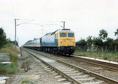 01943 47596 Newton Greenways (Norwich) 02.08.1986 (31417) Tags: 47596 47 norwich duff