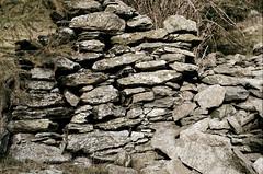 Arriach (Harald Reichmann) Tags: kärnten arriach wöllanernock trockenmauer mauer stein ruine stall analog film olympusom4 alm