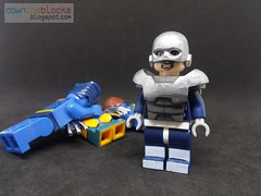 Lego Marvel Avalanche (Brotherhood of Mutants) Minifig MOC DTB054 (downtheblocks) Tags: avalanche brotherhoodofmutants minifig moc xmen marvel lego