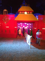 Somewhere in west bengal - Durga Puja (Nirbanjyoti das) Tags: goddes god culture pandel puja durga hindu hindusuim west bengal wb bangali bengali worship maa deity photography nirban jyoti das dibya harsha harsa jit jeet idol photo images img pic pics celebrate celebration divinity navratri pandal mahalaya festival thakur pratima ashtami bipadnashini devi goddess