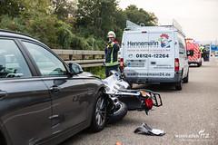 Motorradunfall A66 Biebrich 22.09.17 (Wiesbaden112.de) Tags: a66 autobahn autobahnpolizei bab feuerwehr motorrad motorradunfall notarzt polizei rettungsdienst unfall vku vu verkehrsunfall wiesbaden112 zusammenstos sst deutschland deu