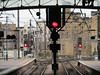 STOP!!!!! 3 Times (Gary Chatterton 4 million Views) Tags: newcastle railwaystation railwaysignals redsignals stop 3 times railway tracks networkrail railwayoperations city flickr explore photography amateur