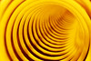 Spiral 10-21-17 (MelenaMe) Tags: spiral coil round circles infinity tube yellow curve curves revolves