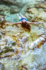 Weightless (My . December) Tags: water waterfall film analog analogue nikolozjorjikashvili nikonf100 mydecember jorjikashvili ektar100 kodakektar100 50mmf18 35mm analoge roll nature wild wilderness voyage summer trees trip roadtrip caucasus georgia young