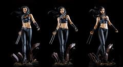 X-23 | Statue | Bowen Designs (leadin2) Tags: statue marvel bowendesigns bowen designs comics canon 2017 canonefs35mmf28macroisstm xmen mutant x23 laura kinney claws adamantium