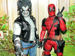 Nothin' but trouble (Pablo Pacheco 85) Tags: deadpool ryanreynolds lobo dccomics marvelcomics roommates