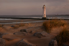 Perch Rock lighthouse (PentlandPirate of the North) Tags: perchrocklighthouse wirral newbrighton mersey liverpool dawn ~flickrinnes flickrinnes