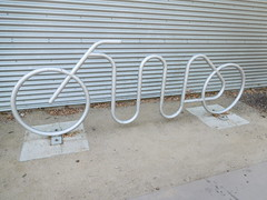 October 10: Bike Rack Bike