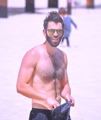 Beach Workout (Alan46) Tags: hunk stud handsome sexy muscular muscles masculine pecs torso abs nips nipplse armpits pits hairychested bearded shorts hunky beefy beefcake buffed brawny ballsy bitchin built beach sea sun sand man guy guapo macho telaviv israel