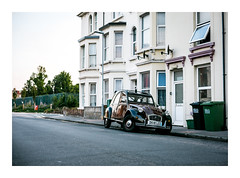 French Fancy (Wil Wardle) Tags: wilwardle photography canon 5dmk3 ebphoto britain britishphotographer england retro retrofeeling architecture eastbourne eastsussex carportraiture carportrait france french frenchconnection 2cv citroen2cv citroen frenchquarter streetphotography seaside seeinsideseaside 5dmk2 f14 canonef50mm adobelightroom fixedlens 50mm