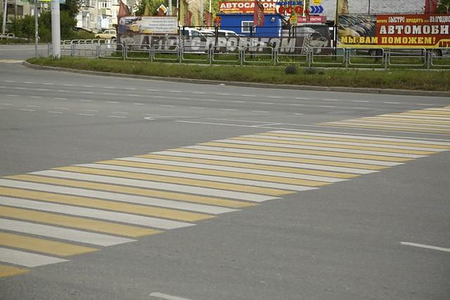 Штрафы для водителей занепропуск пешеходов возросли до2500 руб.