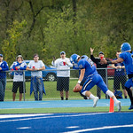 "<b>Football Game</b><br/> Homecoming Football game vs. Nebraska Wesleyan. October 7, 2017. Photo by Madie Miller.<a href=""//farm5.static.flickr.com/4452/37484511060_e5429829ed_o.jpg"" title=""High res"">∝</a>"