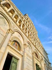 Pisa dome facade (saveriosalvadori) Tags: pisa dome facade piazzadeimiracoli architecture architettura church chiesa tuscany